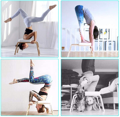 Yoga Headstand Bench Inversion Chair - Stand Yoga Chair for Home Gym