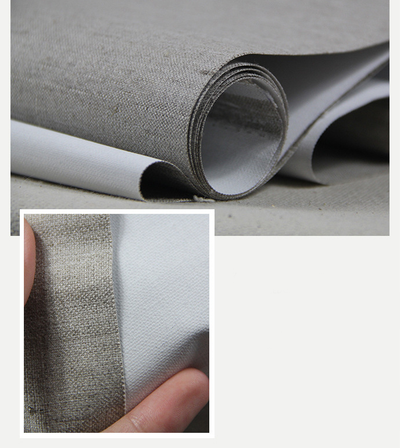 5m Roll Triple Primed Artist Canvas Roll 1.6m Wide - Fine Texture, Pure Linen
