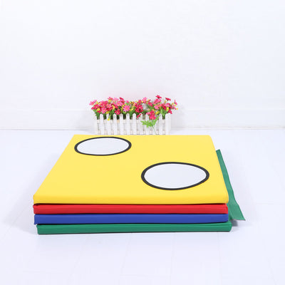 Colourful Soft Toddler Foam Mat Baby Play Mat with Sensory Counting Child-Safe Mirrors