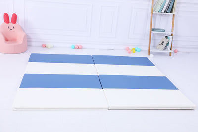 Baby Playpen Kids Activity Centre Safety Play Yard Home Indoor - Blue