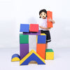 Baby Toddler Large Soft Foam Building Block Indoor Foam Block Castle Playset 11pcs - Size M