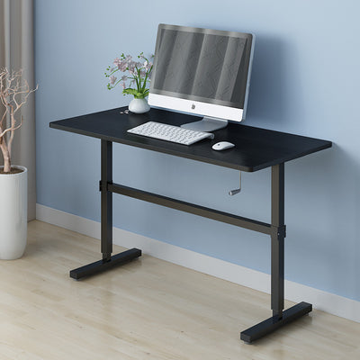 ZASS Stand Up Table Sit & Stand Desk Height Adjustable Table Laptop Desks Home Office Manual Adj.