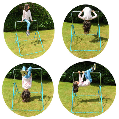 Kids Gymnastics Bars Training Horizontal Monkey Bars Adjustable Height