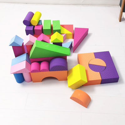 Giant Baby Kids Soft Block Play set Toys Active Building Blocks 48pcs