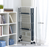 Extra Large Heavy Load Sturdy Foldable Clothes Laundry Drying Rack (White)