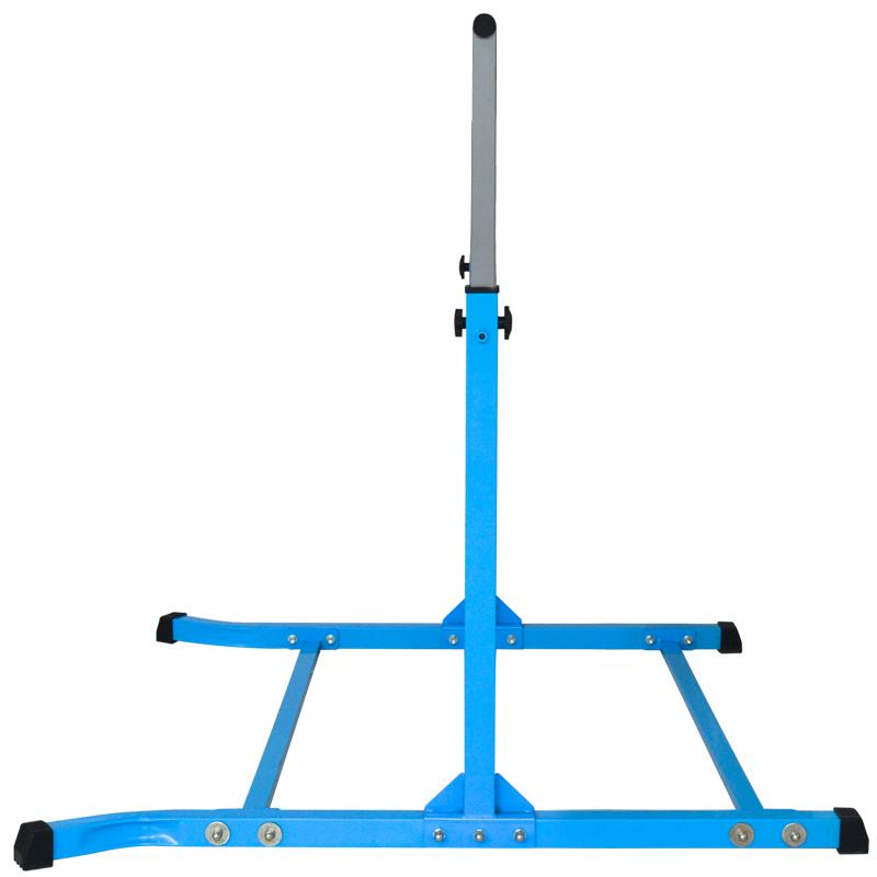 Value Combo Gymnastic Horizontal Bar Sports Junior Training Bar + Gym Mat (Blue Set)