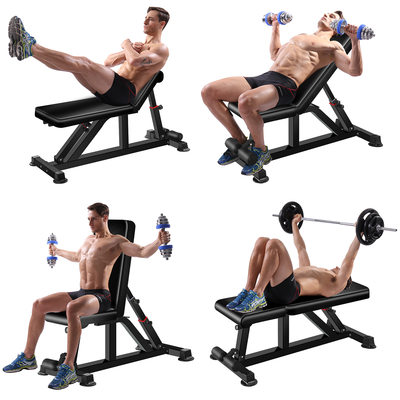 King Kang Weight Bench Adjustable Strength Training Bench for Full Body Workout Semi-Commercial
