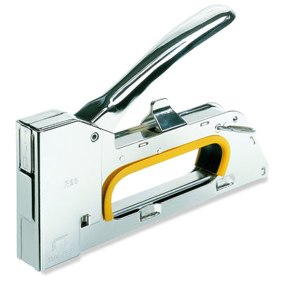 All Steel R23 Staple Gun with Anti-Jamming and Recoil Reduction Mechanism