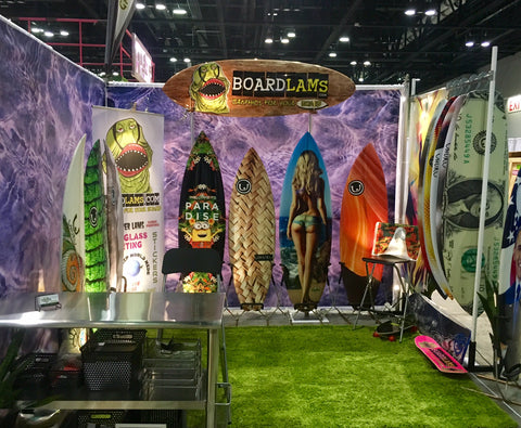 BoardLams at the Orlando 2016 Surf Expo