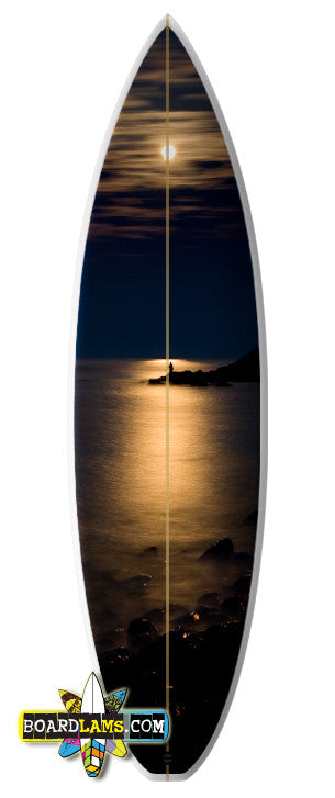 "Size 1 - Boards up to 6'6"" (6'6"" x 22"" Print)"