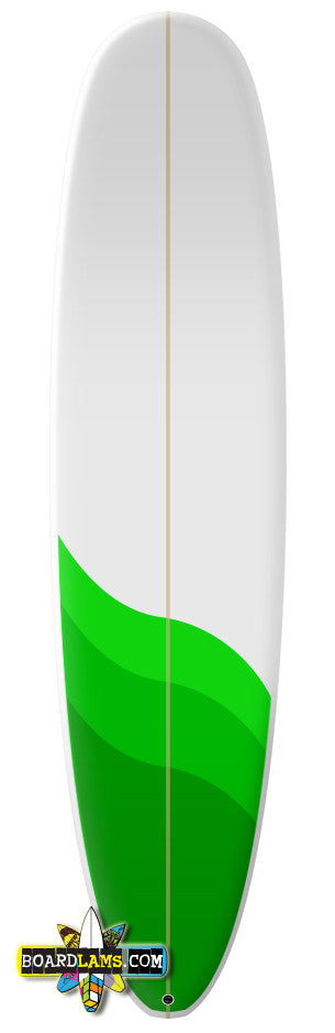 "Size 3 - Boards up to 9'6""  (48"" x 26"" Print)"