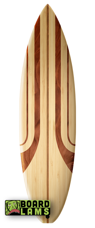 Retro Oak Stripes & Light Maple Woodgrain
