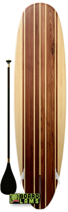 Maple Panels & Dominant Oak Stripe Woodgrain