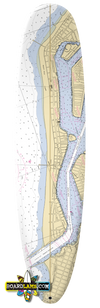 Newport Beach Nautical Map