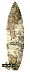 Historical Caribbean Map