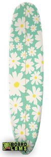 Summer Daisies In Aqua