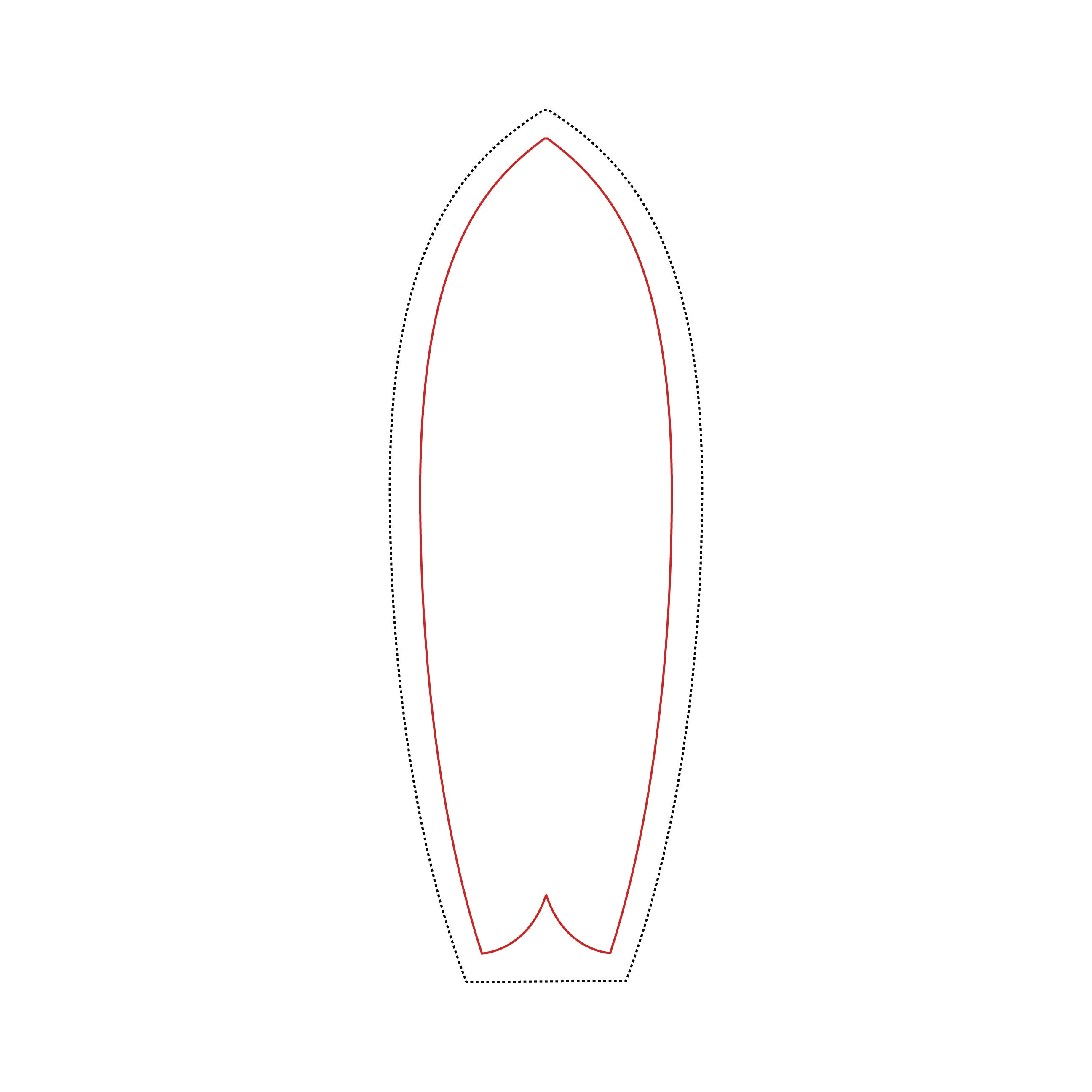 photograph relating to Printable Surfboard Templates identify Template Downloads -