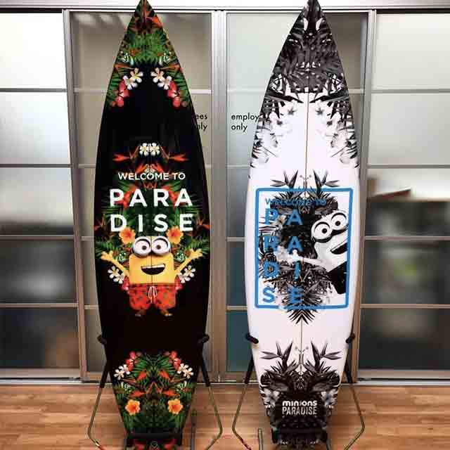 Boardlams Marketing surfboards printed in fiberglass or ricepaper