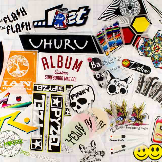Boardlams Ricepaper sheets printing for Surf and Composite Products
