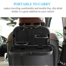 Load image into Gallery viewer, 🎁😊😍 Gift : Car Seat Foldable Food and Drinks Tray (car tray), (car food tray), (car drink tray)