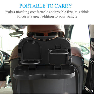 🎁😊😍 Gift : Car Seat Foldable Food and Drinks Tray (car tray), (car food tray), (car drink tray)
