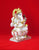 Marble Ganesh Murti Sitting on Lotus 10