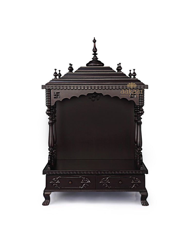 3986945a8b5 Folding Pooja Mandir for Home - 30 KFC-Wooden Temples-Aakaar.com