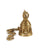 Brass Puja Bell Featuring Ganesha (Medium)