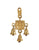 Brass Wall Hanging decoration for Puja room featuring Mahalakshmi (1590715416633)