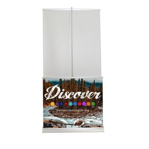 Deluxe Matisse Double Exposure Banner Stand - chicagofastbanners