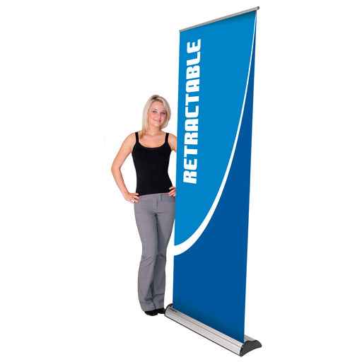Deluxe Roll Up Banner Stand - chicagofastbanners