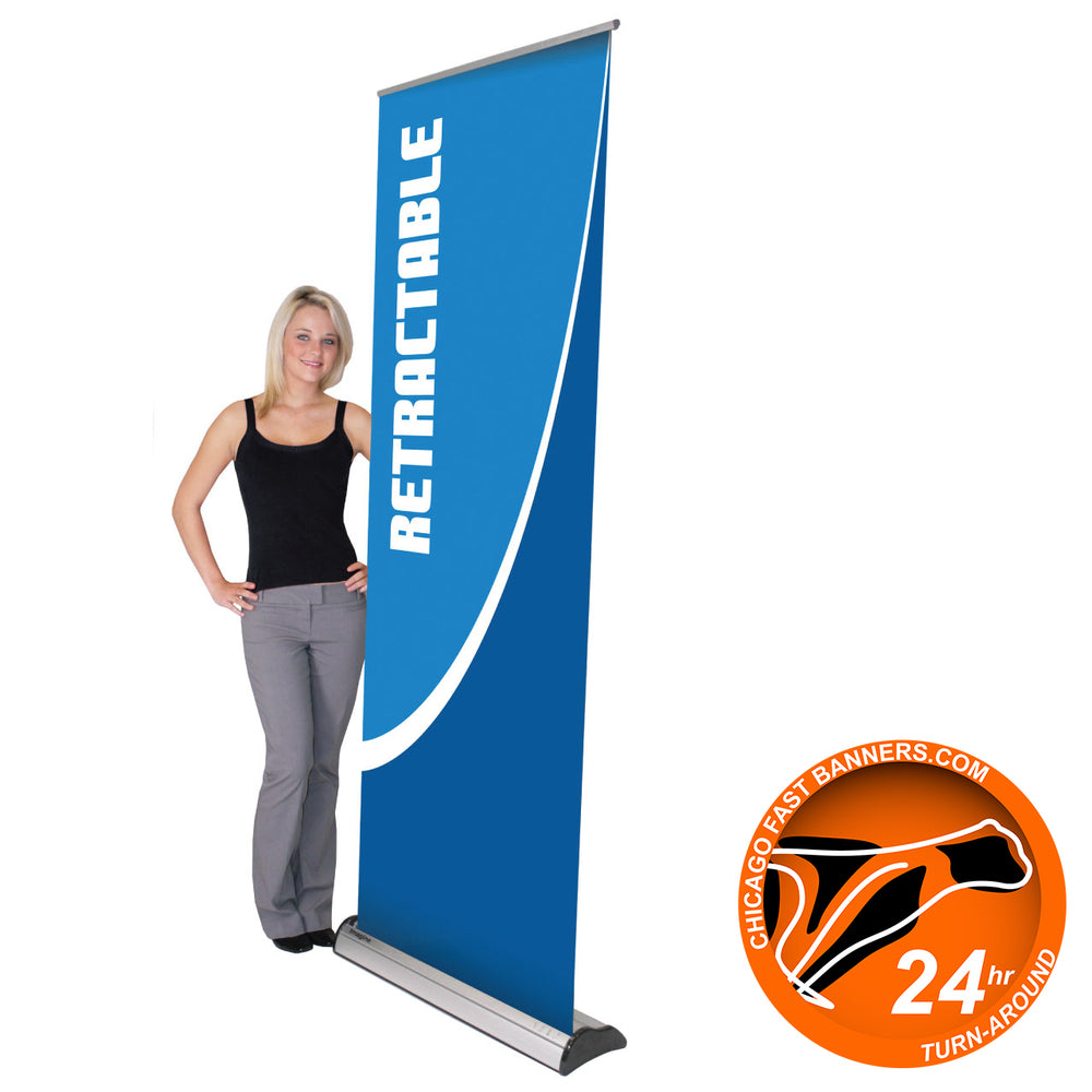 Roll Up Banner Stand - chicagofastbanners