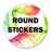 Circle Labels - Stickers - chicagofastbanners