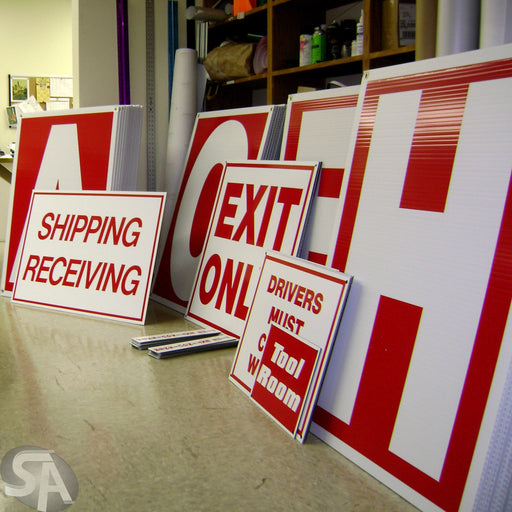 Coroplast Signs - chicagofastbanners