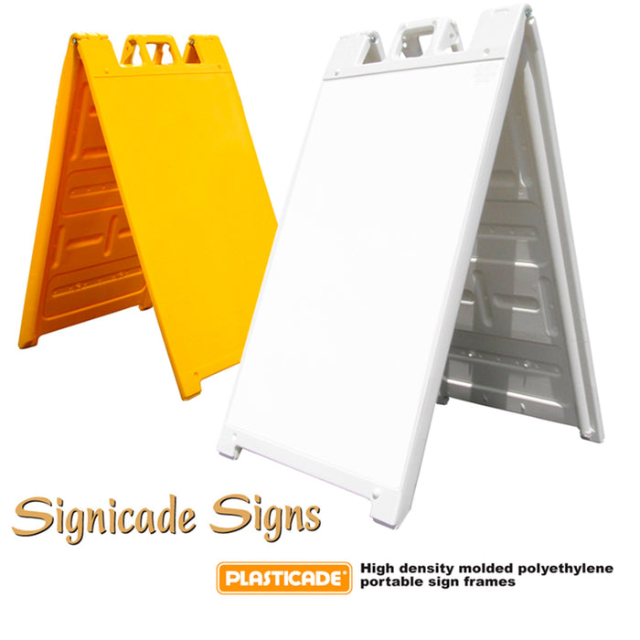 Signicade® Sign Stands - 45inH x 25inW - chicagofastbanners