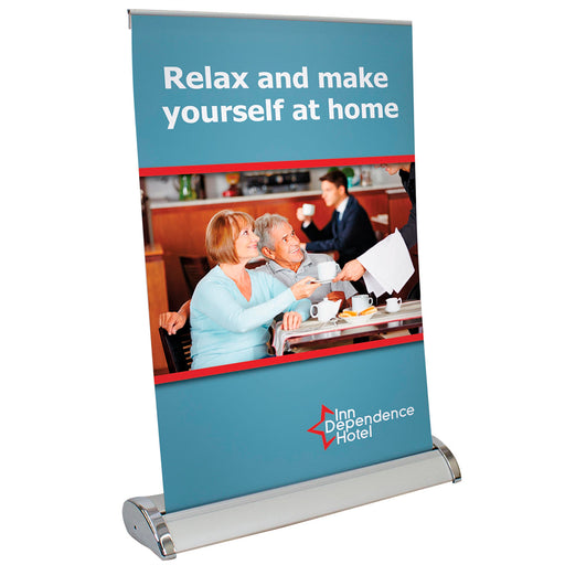 Table Top Banner Stand - chicagofastbanners