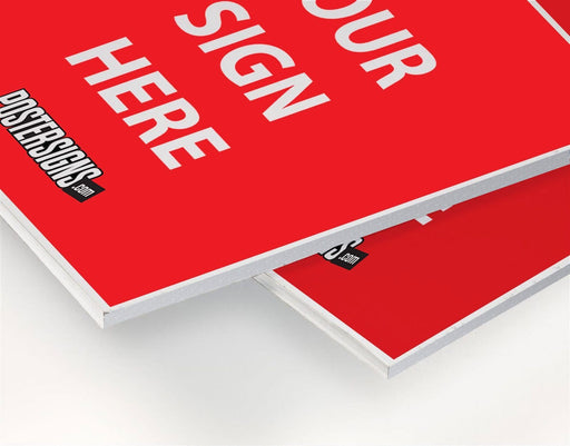 Foam Board Signs - chicagofastbanners
