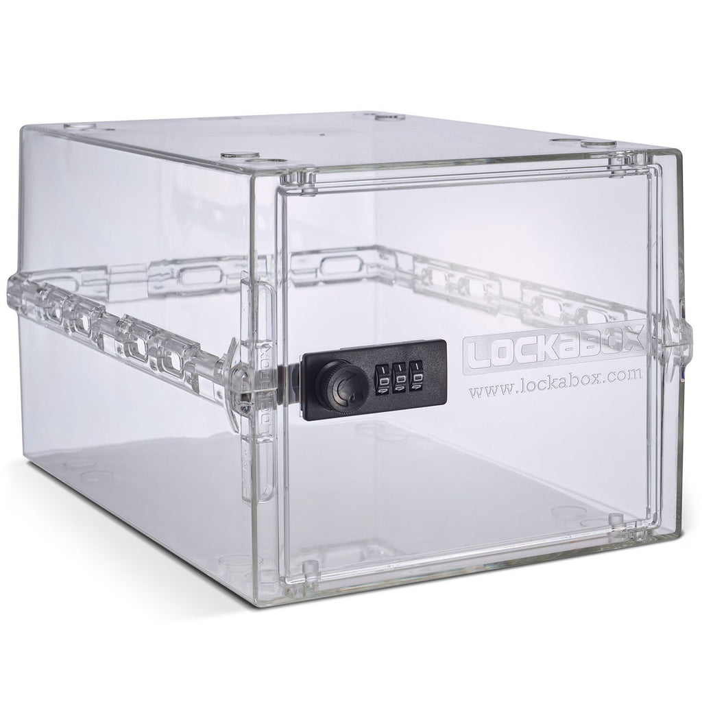 Lockabox - compact and hygienic lockable box