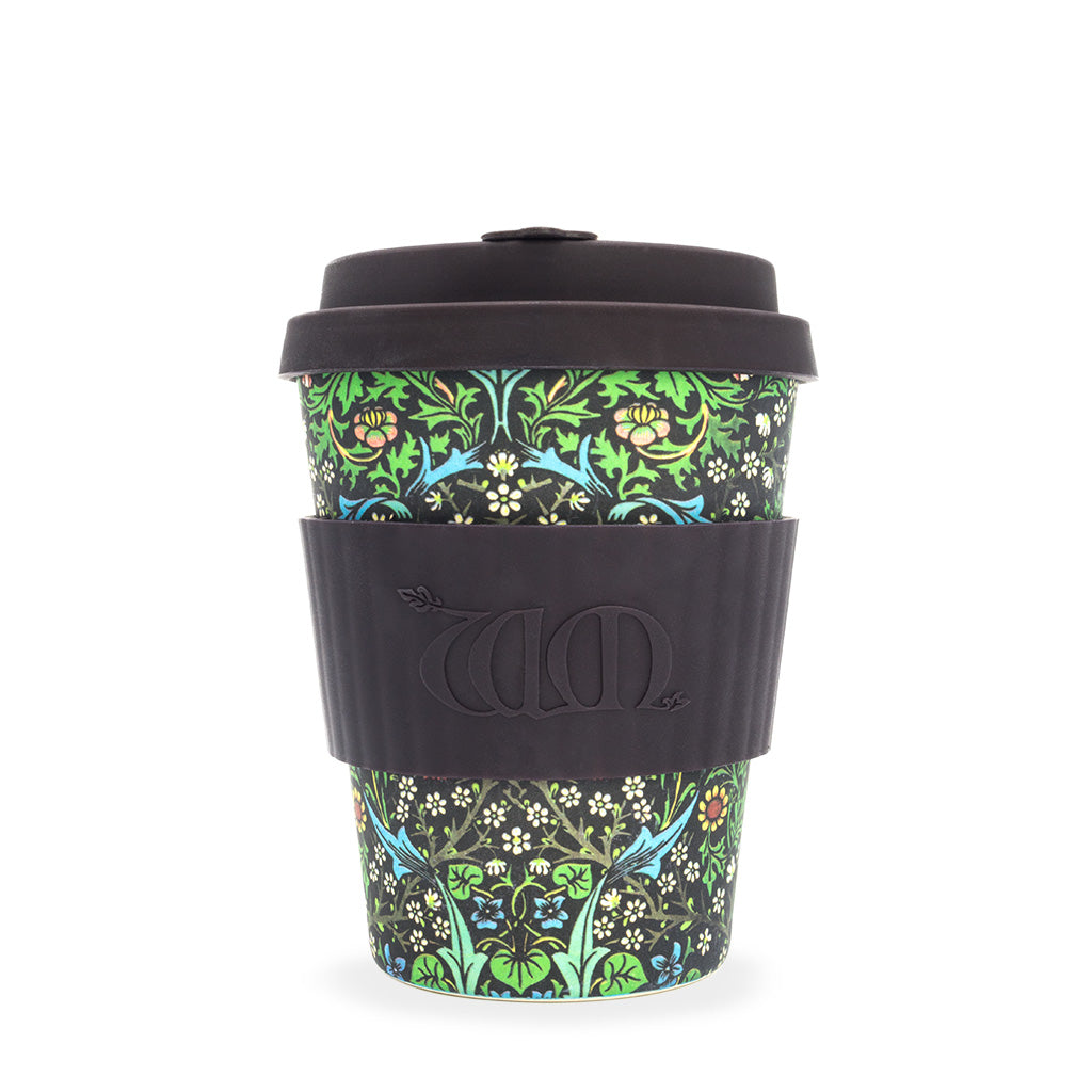 ECoffee Cup Blackthorn - 12oz reusable bamboo coffee cup