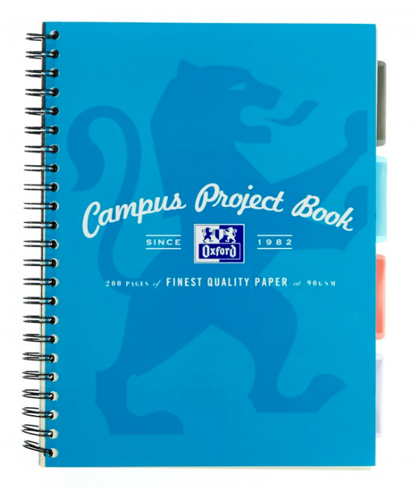 Oxford Campus Project Book A4 +140 Page Assorted