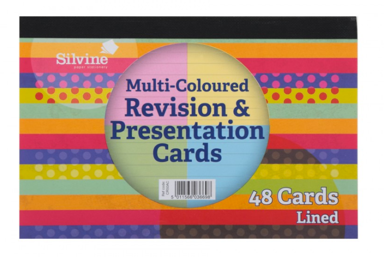 Revision and Presentation Cards 48 Pack
