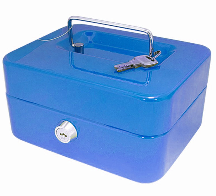 Secure Metal Cash Box