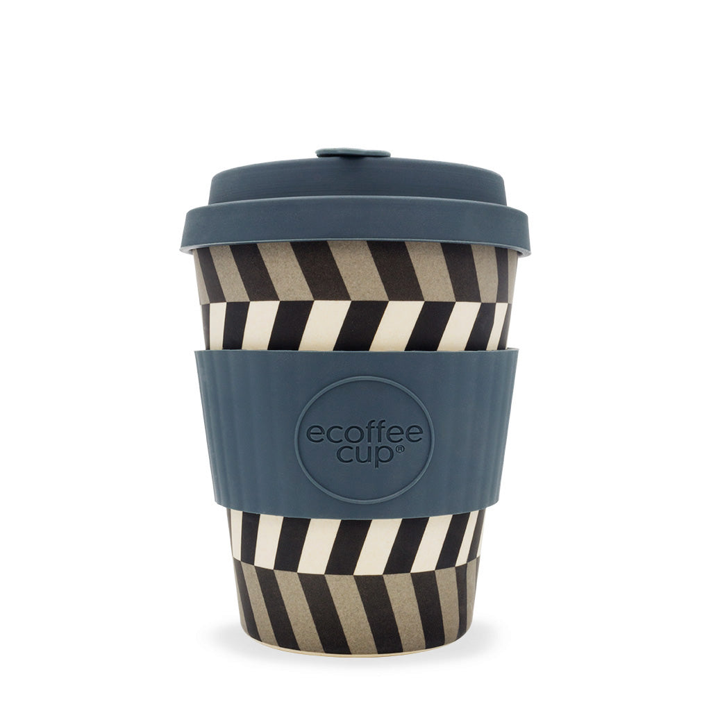 ECoffee Cup Look into my Eyes - 12oz reusable bamboo coffee cup