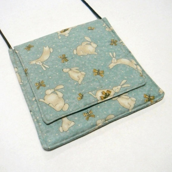 Bunny Hop Small Square Purse