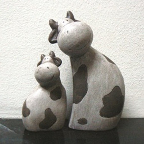 Cute Cows Ceramic Figurines