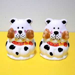 Dog with Bone Salt & Pepper Shakers