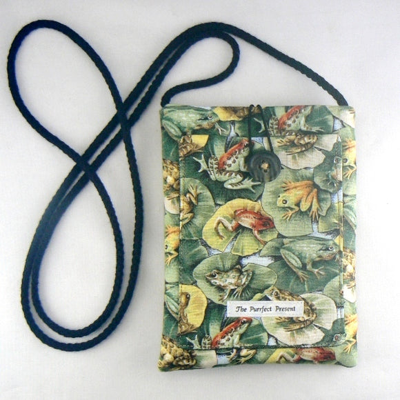 Frogs on Lilly Pads Mini Purse