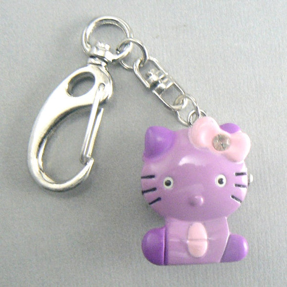 Hello Kitty Purple Pocket Watch