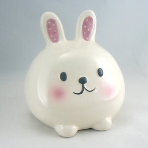 Little White Bunny Rabbit Bank