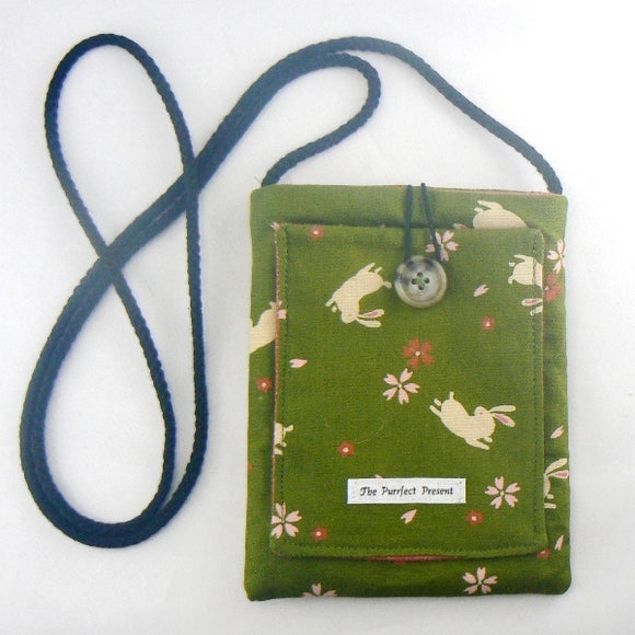 Mini Purse with Bunnies & Blossoms